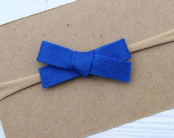 Royal Blue {WILLOW} - Headband or Clip - One Size Fits All