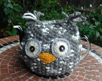 Chunky Owl Tea Cosy 4-6
