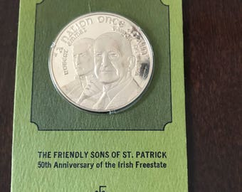 The Friendly Sons Of St Patrick Irish Freestate Commemorative Coin