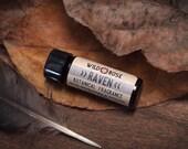 Natural Perfume Oil RAVEN Essential Oil Cologne Unisex / Earthy 3.7 ml // 1 Dram