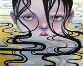 """Giclee print """"The dirtiest clean I know"""""""