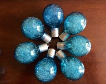 Sylvania Blue Dot Flash Bulbs - P25 Camera Bulbs - Blue Set of 7 Bulbs