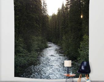 Forest Wall Tapestry, Adventure Tapestry, Nature Wall Tapestry, Mountain Bedroom, Tree Tapestries, Dorm Room Tapestries, Dorm Decor