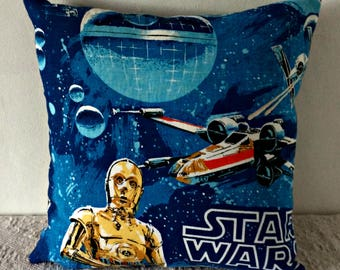 Cushion made from Star Wars Fabric