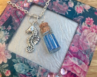 Sea Horse Charm necklace
