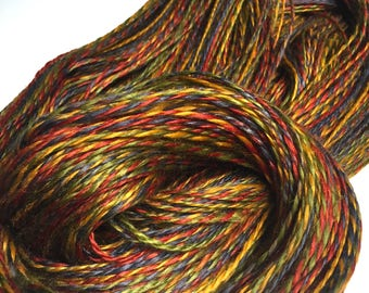 Handspun Double-ply Vegan Ramie Yarn, 6.75 ounce skein