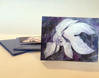 FISH Note Cards - Set of ten
