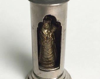 French Pocket Saint Virgin Mary and Jesus