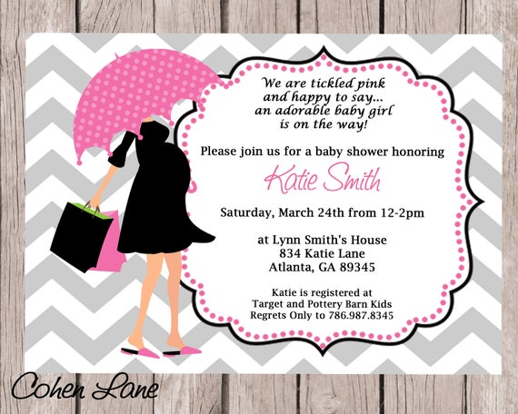 Baby shower invite chevron invitation modern mom invite pregnant il570xn filmwisefo Choice Image