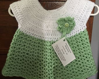 Hand-Crocheted Baby Dress
