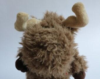 "Moose Stuffed Animal - ""Harry"""