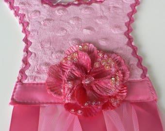 Hot Pink Chenille Barrette Holder