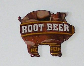 Pig Magnet - MUG Root Beer Soda Can
