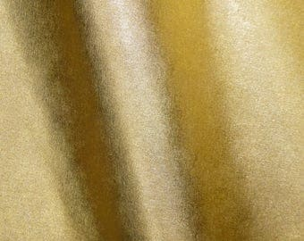 "Leather 8""x10"" SAFFIANO GOLD Metallic Weave Embossed Cowhide 2.5-3oz/ 1-1.2mm PeggySueAlso™ E8201-05"