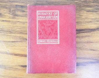 Antique 1900 Rubaiyat Of Omar Khayyam By Edward Fitzgerald H M Cadwell Co