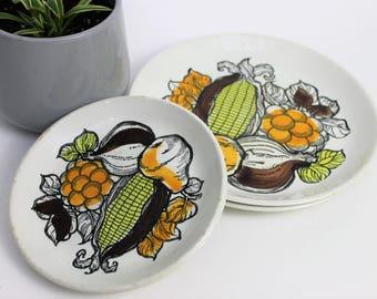 Biltons Staffordshire Harvest Design Dinner Plates and Side Plates