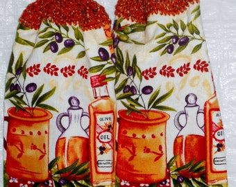Set of Cooking Oil Kitchen Towels