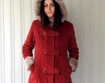 Vegan Duffle Coat | Fashion Women's Coat 2017