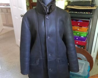 Men's Dark Brown Paul Rosen London Coat