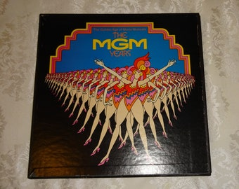 Vintage Album Box Set MGM The MGM Years Movie Musicals 6 Albums (12 inch LP)