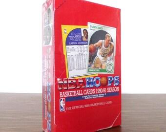 1990 - 1991 NBA Hoops Basketball Cards NBA Unopened Pack