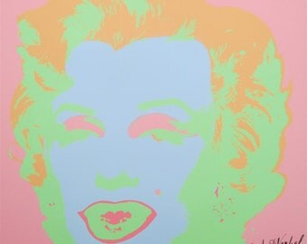Andy Warhol Marilyn Monroe signed limited edition lithograph 2238/2400 II.28