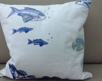 Pisces Cushion Cover - Jane Churchill Fabric