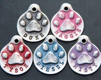 Dog Tag - Personalized Dog Tag - Hand Stamped Dog Tag - Dog ID Tag - Dog Name Tags - Custom Dog Tag - Black Lab - Pet Tags
