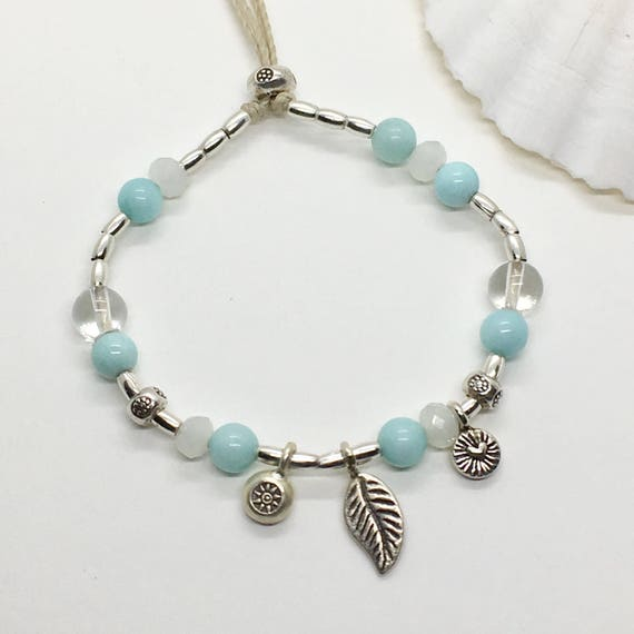 silver hill tribe bracelet, boho jewelry, gift for her