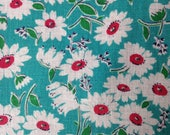 Quilting Cotton, Feedsack, 1940's Fabric, Vintage Fabric, NOT Reproduction, UK Seller,