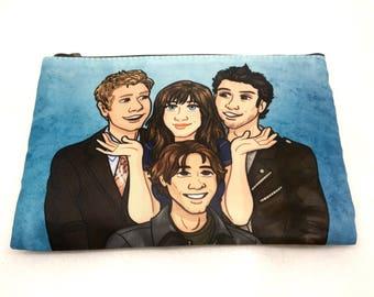 Gilmore Girls Rory Dean Jess Logan boyfriends Pouch pencil case