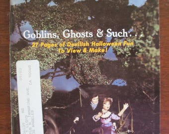 Vintage  Miniaturist's magazine Nutshell News October 1981 out of print back issue used