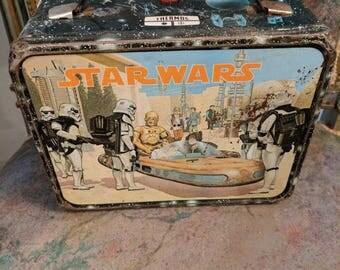 Vintage Star Wars Lunch Box 1977