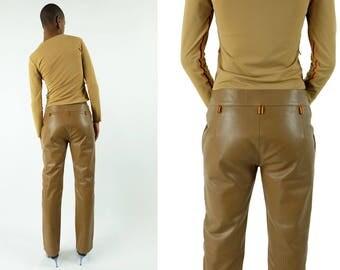 MIU MIU 90s Leather Pants