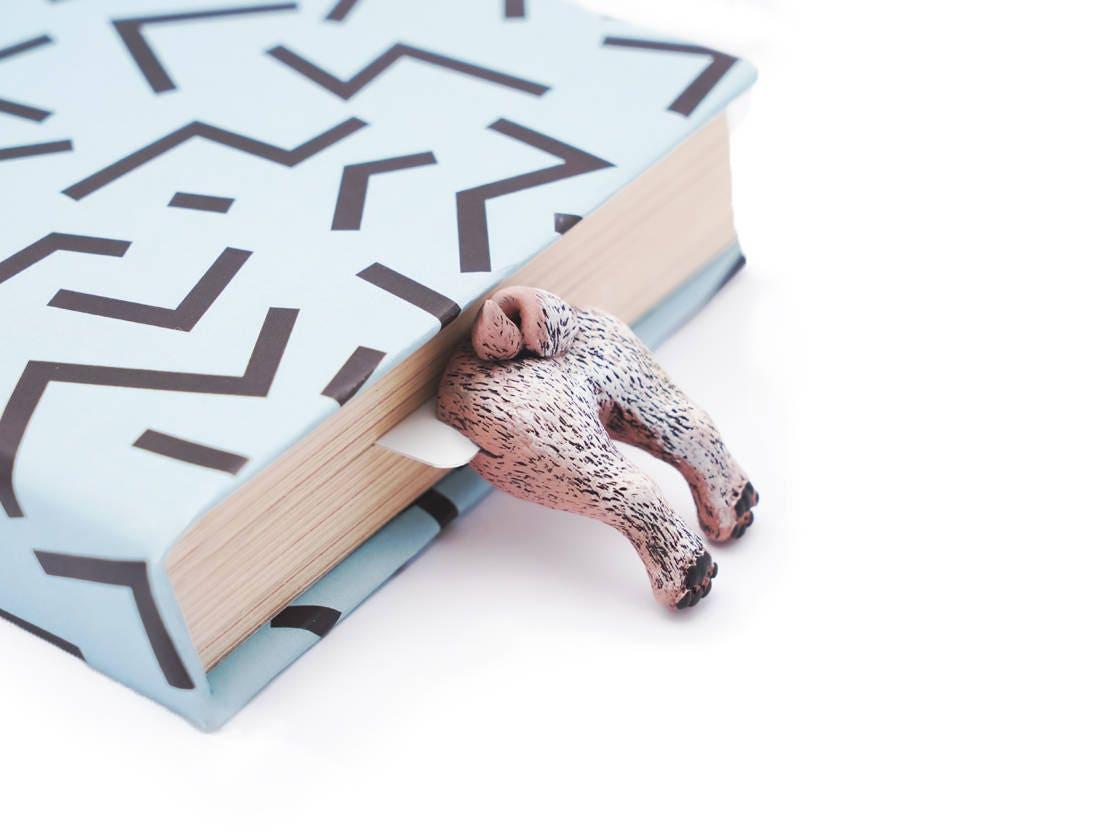 Final sale 30 pug bookmark dog bookmark unusual gift for Unusual dog gifts