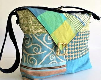 Boho Messenger, Boho Purse, Boho Handbags, Large Bag, Messenger Bag, Messenger Bag Women, Vegan Bag, Eco Friendly Bag, Boho Bag, Hipster Bag