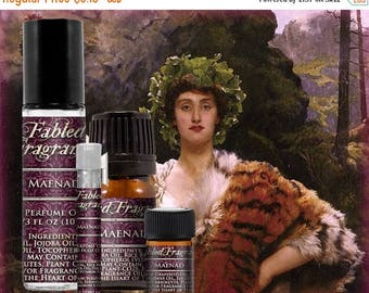 SALE MAENAD Perfume: Bacchian Nymph, Juicy Raspberry, Sweet Vanilla, Artisan Fragrance, Vegan Solid Perfume, Ships Out in 5-7 Days
