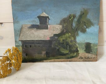 Oil Painting - House