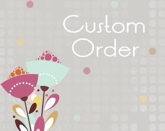 Custom Listing for Cassy