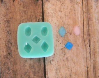 Silicone Flexible Mold- Tiny Gems