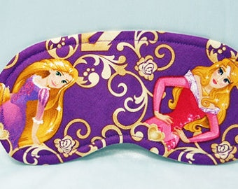 Disney Princess (Rapunzel/Aurora) cotton print sleep mask