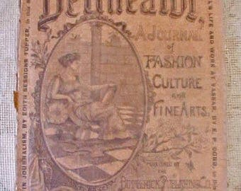 "Amazing 1894 ""The Delineator"" Fashion Magazine-Wonderful Look into the Victorian Era"