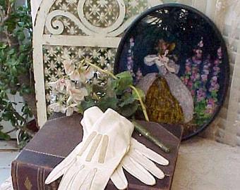 Lovely Pair of Edwardian Era Kid Skin Gloves for Display
