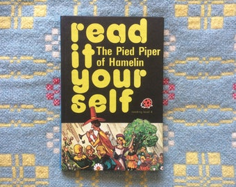 Vintage Ladybird Book - The Pied Piper of Hamelin - Read it Yourself - 1980s Children's Book