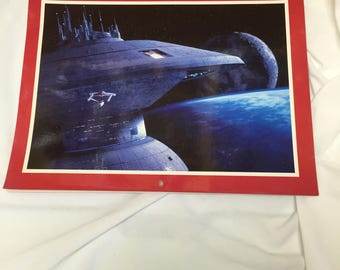 Star Trek III The Search for Spock 1985 Stardate Calendar