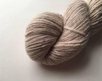 Reclaimed DK Yarn - Wool/Nylon - Oatmeal Heather
