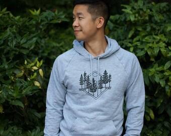 Midwest is Best Grey Sweatshirt, Midwest Hoodie, American Apparel Grey Sweatshirt, Pullover