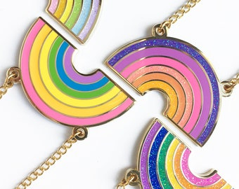 RAINBOW NECKLACE - 4 versions
