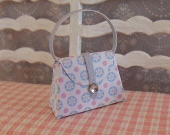 Dollhouse handbag light blue/pink