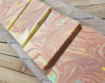 Orchard by the Veranda-cold process soap with a sophisticated fruity scent